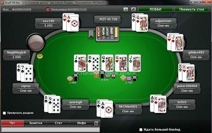 онлайн покер раздачи