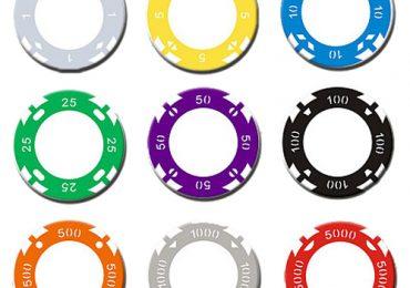 Номинал фишек в покере по цвету