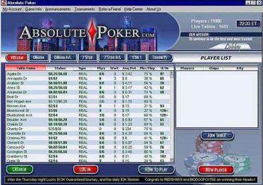 Как работает Абсолют Покер или почему не нужно там играть