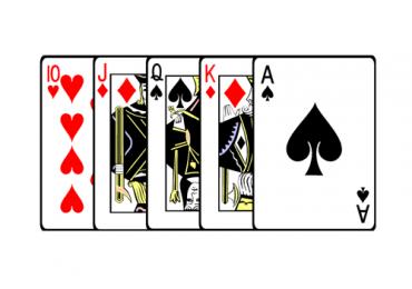 Бродвей в покере – описание комбинации