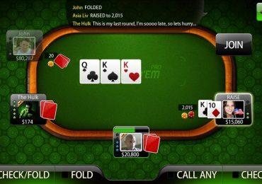 Call any в покере — что это за кнопка, для чего она нужна?